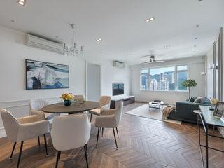 A Vintage Lifestyle - Villa Rocha, Hong Kong Grande Interior Design Mediterranean style dining room