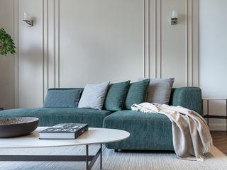 A Vintage Lifestyle - Villa Rocha, Hong Kong Grande Interior Design Mediterranean style living room