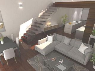 Dúplex 3D en Santiago de Compostela Mar de Cores estudio 3D