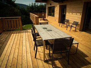 Holz Terrassendielen Remise Patios & Decks