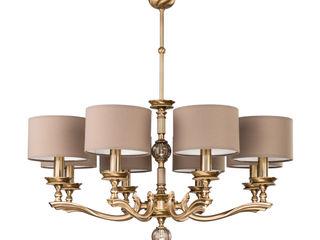 TIVOLI collection of brass lighting Luxury Chandelier LTD EsszimmerBeleuchtungen Kupfer/Bronze/Messing Bernstein/Gold