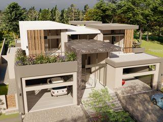 FRANCOIS MARAIS ARCHITECTS Nhà phong cách tối giản