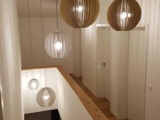 Skapetze Lichtmacher Corridor, hallway & stairsLighting Wood Beige