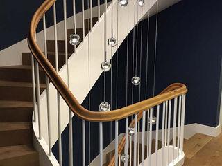 Skapetze Lichtmacher Corridor, hallway & stairsLighting Glass Transparent