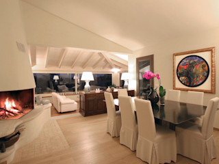 Architetto Alessandro spano غرفة المعيشة