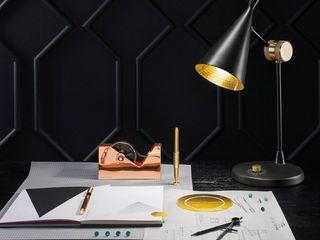 Skapetze Lichtmacher Study/officeLighting Iron/Steel Black