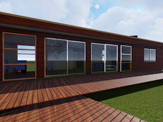 Nave + Arquitectura & Modelación Paramétrica Casas de estilo rural