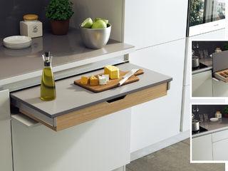 Sistemi multifunzionali salvaspazio Atim Spa CucinaPiani di lavoro Alluminio / Zinco