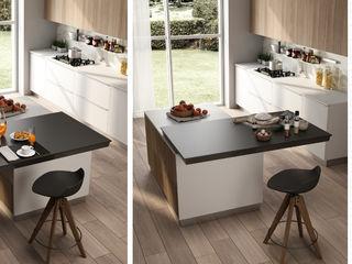Top scorrevoli Atim Spa CucinaTavoli & Sedie Alluminio / Zinco