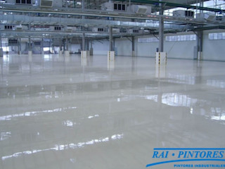 Pavimentos industriales en Barcelona Rai Pintores - Pintores Industriales Espacios comerciales de estilo industrial