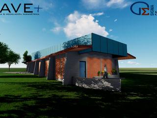 Dep´ósito Temporal Colección Villa Cultural Huilquilemu Nave + Arquitectura & Modelación Paramétrica Bodegas de estilo industrial