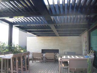 INGENIERIA Y DISEÑO EN CRISTAL, S.A. DE C.V. Tejados planos Aluminio/Cinc Negro