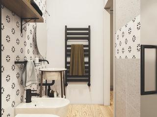 Spazio - Ristrutturazioni Modern Bathroom Grey