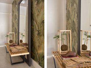 Apartamento Glória fpr Studio Corredor, vestíbulo e escadasAcessórios e decoração Verde