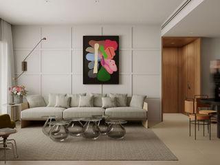 Apartamento Cidade Jardim fpr Studio Sala de jantarAcessórios e decoração Castanho