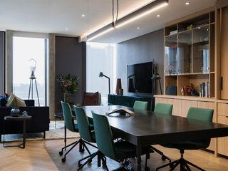 interior design workroom. Modern dining room