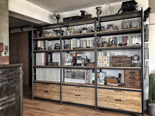 銳龍工藝設計 Study/officeStorage Wood Black