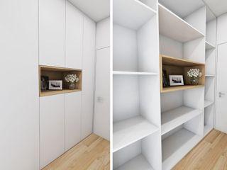 Móveis à medida! Casactiva Interiores Corredores, halls e escadas modernos