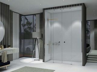 Separadores de duche e banho Fator Banho Casas de banho minimalistas