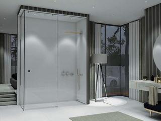 Separadores de duche e banho Fator Banho Casas de banho modernas