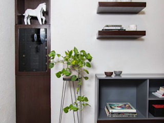 Unio Studio Ruang Studi/Kantor Gaya Eklektik