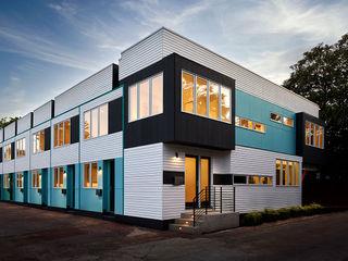 KUBE architecture 現代房屋設計點子、靈感 & 圖片