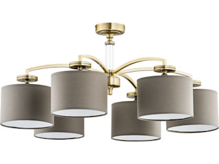 Bespoke Lighting Solutions for low ceiling Luxury Chandelier LTD Moderne Schlafzimmer Kupfer/Bronze/Messing Bernstein/Gold