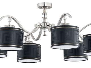 Bespoke Lighting Solutions for low ceiling Luxury Chandelier LTD Moderner Flur, Diele & Treppenhaus Kupfer/Bronze/Messing Metallic/Silber