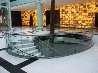 Merkalum Balkon Kaca Transparent