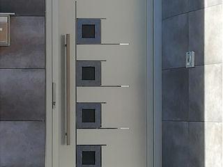Indupanel Windows & doors Doors Metallic/Silver