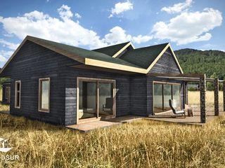 NidoSur Arquitectos - Valdivia Casas unifamiliares