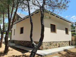 GF CONSTRUCCIÓN SOSTENIBLE S.L.U Nowoczesne ściany i podłogi Cegły Beżowy