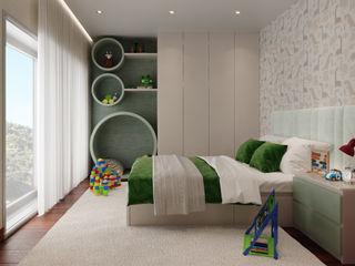 Quartos de criança - Moradia Baltar Alpha Details Quartos de criança modernos