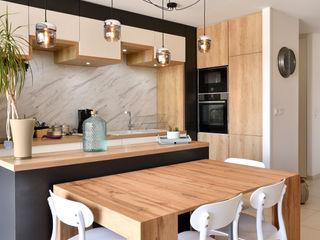 Aménagement d'appartement neuf Tiffany FAYOLLE Cuisine intégrée