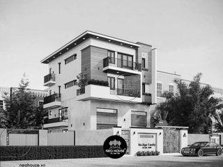 Thiết kế biệt thự hiện đại 3 tầng đẹp tại Củ Chi, Tp. HCM NEOHouse