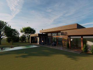 Nave + Arquitectura & Modelación Paramétrica Casas de estilo mediterráneo