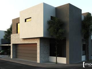 Modulor Arquitectura 現代房屋設計點子、靈感 & 圖片 水泥 White
