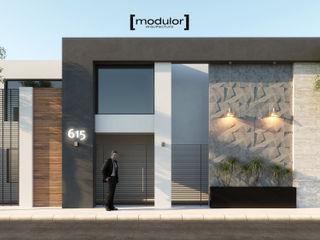 Modulor Arquitectura 現代房屋設計點子、靈感 & 圖片 水泥 Grey