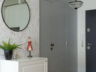 IDEALS . Marta Jaślan Interiors Eclectic corridor, hallway & stairs