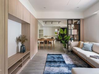 台北市中正區 ISQ 質の木系統家具 客廳