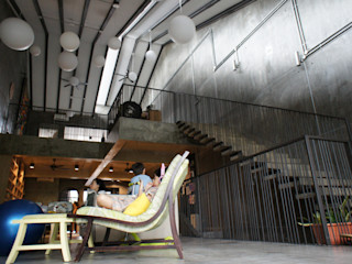 J HOUSE N O T Architecture Sdn Bhd Living room