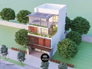 Mẫu nhà phố hiện đại 3 tầng đẹp đã thiết kế thi công NEOHouse