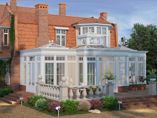Architoria 3D Терасовий будинок Дерево Білий