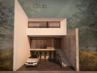 lab arquitectura Casas de estilo minimalista