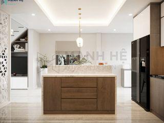 NỘI THẤT NHÀ PHỐ 2PN - ANH NAM - HÓC MÔN Công ty Cổ Phần Nội Thất Mạnh Hệ Bếp nhỏ