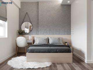 CĂN HỘ MOONLIGHT 51M2 HIỆN ĐẠI - 2 PN - CHỊ LAN Công ty Cổ Phần Nội Thất Mạnh Hệ Phòng ngủ nhỏ