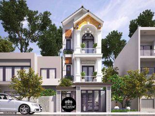 Thiết kế nhà phố 3 tầng tân cổ điển đẹp 5x19m tại Cà Mau NEOHouse
