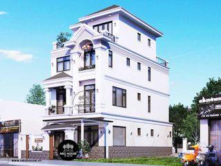 Mẫu biệt thự đẹp 4 tầng hiện đại sang trọng 7x15m tại quận 9 NEOHouse