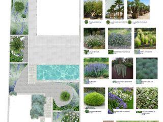 JARDIN UNIFAMILIAR ALCANADA VINAGRELLA Jardines de estilo mediterráneo