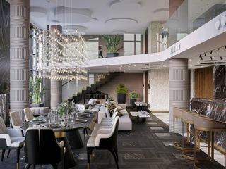 Wide Design Group Salle à manger coloniale Marron